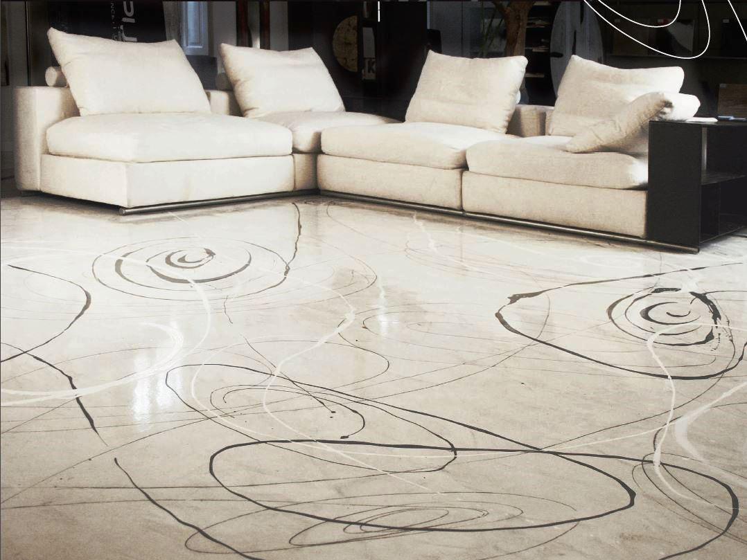 Resine decorative per pavimenti e pareti top color srl for Decorazioni pavimenti interni